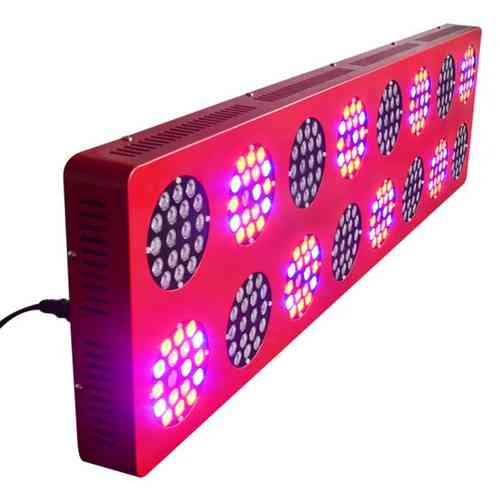 Panel LED Cultivo Crecimiento Plantas Grow Light _ 600W