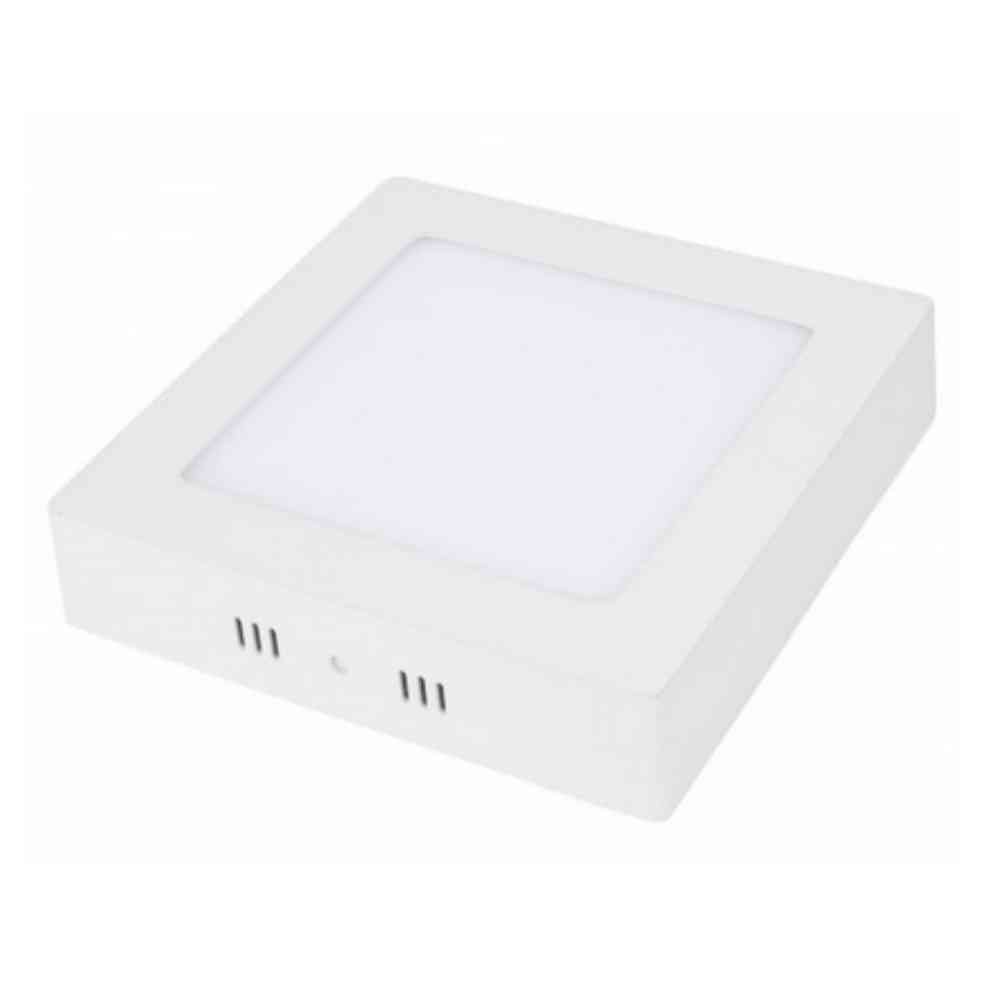 Placa Superficie - Plafon LED Cuadrado 225x225mm _ 18W - AGRALED
