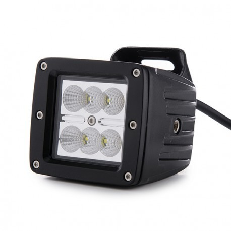 Foco LED 12V / 24V IP67 Rectangular _ 18W