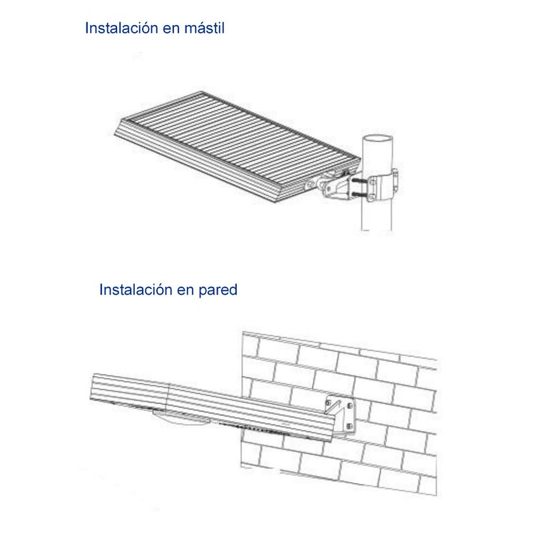 Farola solar led integrada alumbrado publico 15w agraled for Alumbrado solar exterior