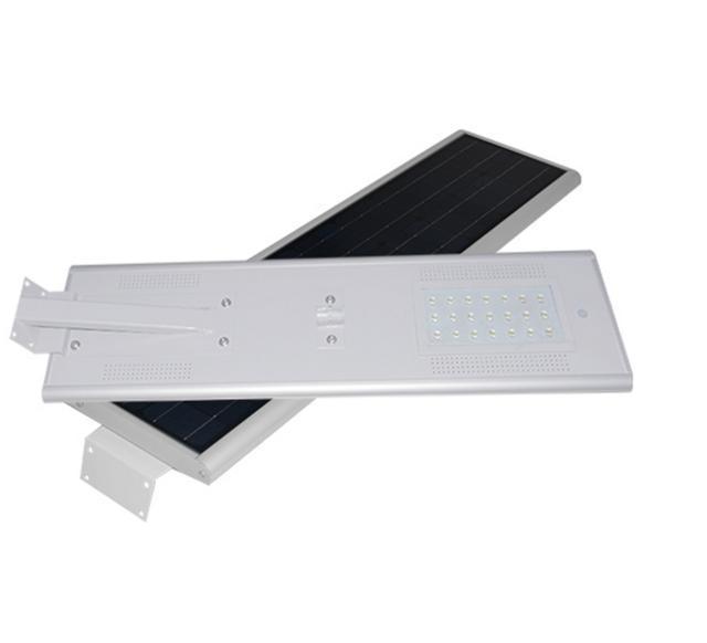 Farola solar led integrada alumbrado publico 20w agraled for Alumbrado solar exterior