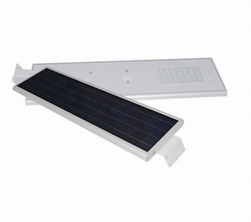 Farola solar led integrada alumbrado publico 25w agraled for Alumbrado solar exterior