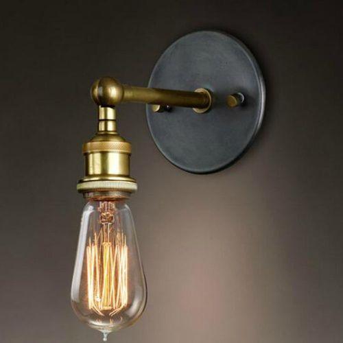Lamparas y apliques diseño pared estilo vintage e industrial