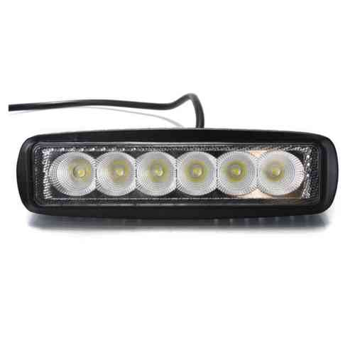 Barra LED 18W Lineal 12V - 24V IP67 Exterior
