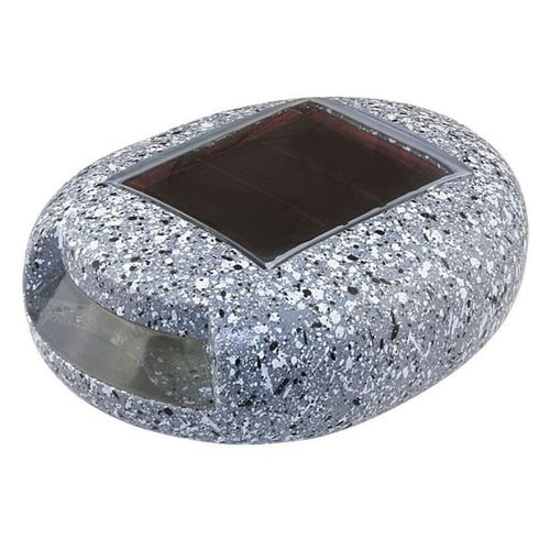 Baliza Solar LED Modelo Piedra Color Luz Blanco